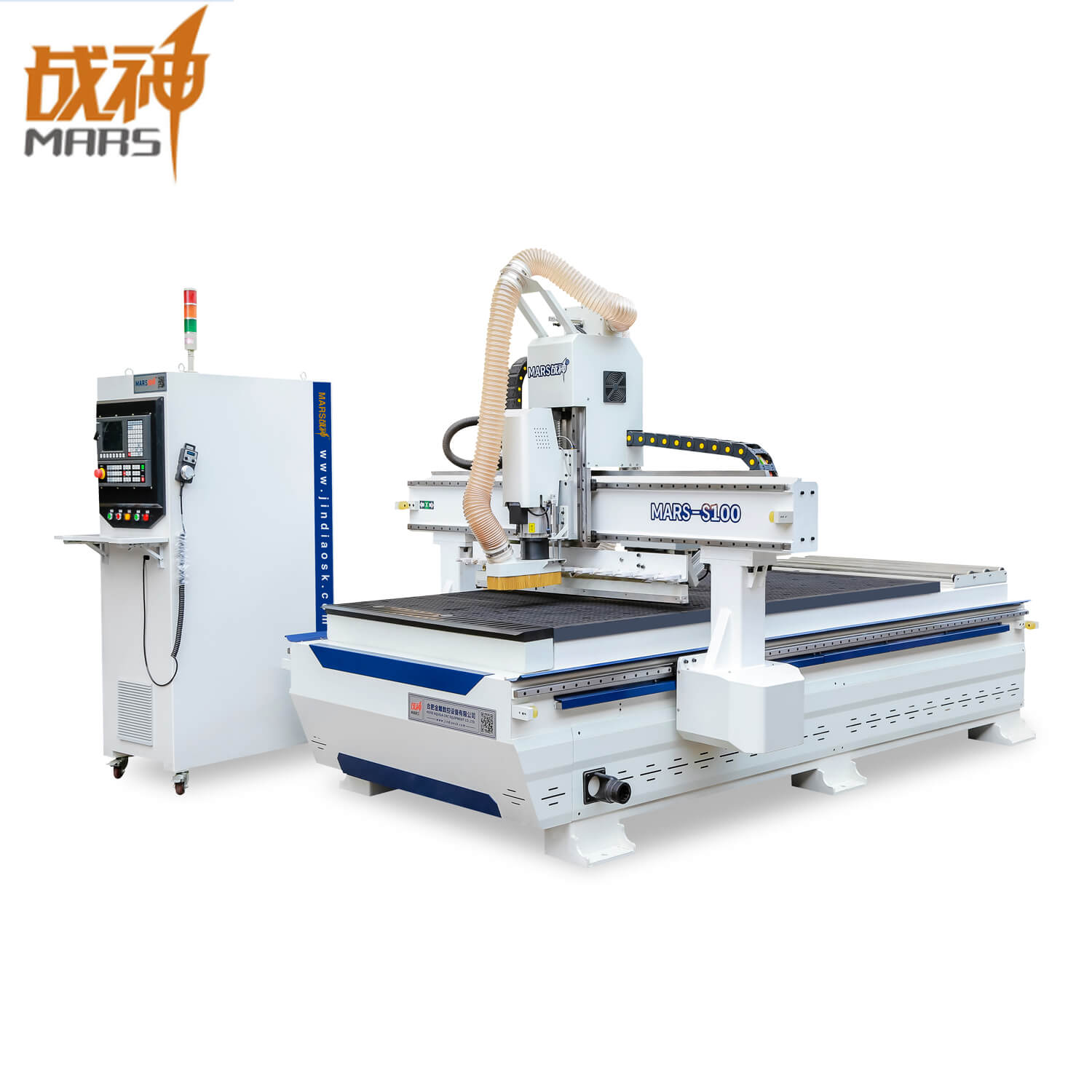 S100 High Quality CNC Router with Auto Lubrication System Used for Materials Cutting And Engraving