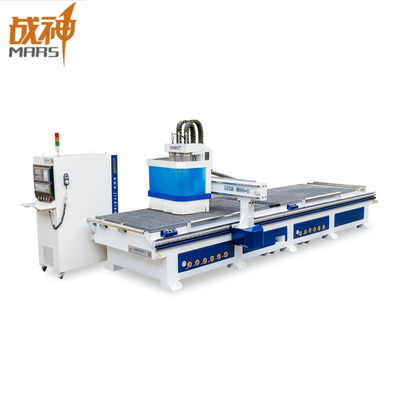 E300D Double Working Table CNC ATC Cutting and Engraving Woodworking Machine